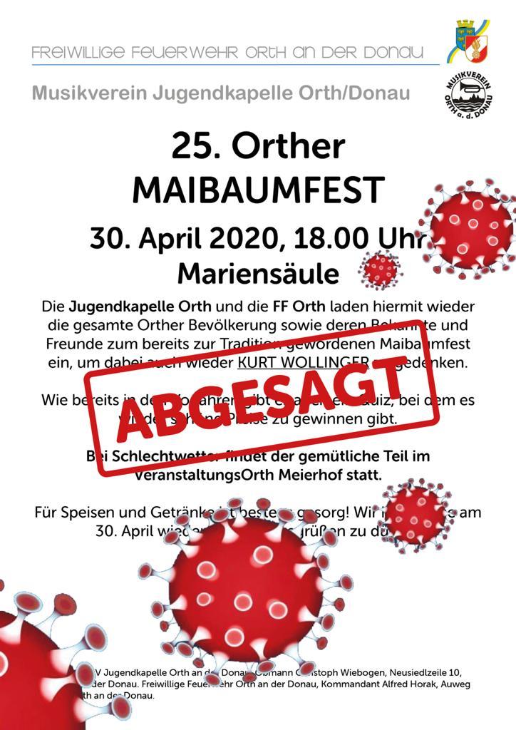 Maibaumfest 2020